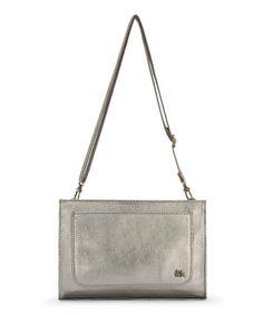 59090e6f6ade The Sak Pyrite Metallic Ivy Leather Crossbody Bag