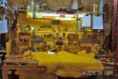 The Process: A Tour of the Tanner Goods Workshop | Man Made DIY | Crafts for Men | Keywords: process, leather, tanner, workshop