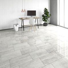 Maxi x x Laminate Flooring White Laminate Flooring, Best Laminate, Modern Flooring, Grey Flooring, White Kitchen Flooring, Laminate Flooring Bathroom, Modern Floor Tiles, Laminate Countertop, Plywood Floors