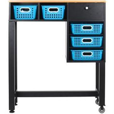 Teacher's Standing Workstation™ With Baskets