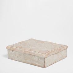 Ξύλινο κουτί σε παλαιωμένη όψη - Ταμεία - Σαλονι | Zara Home Ελλάδα