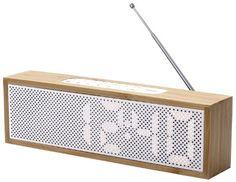 audiosonic wood-style clock radio   kmart   wood   pinterest