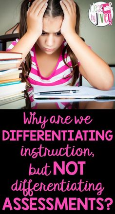 Why are we differentiating reading instruction, but NOT assessments? Read about the importance of differentiation in Ideas by Jivey's post.