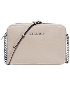 9219c942b2 Michael Kors Jet Set Travel Large Crossbody   Reviews - Handbags    Accessories - Macy s