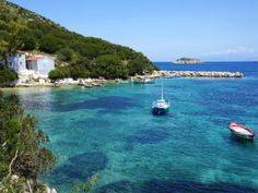 Porto Atheras baai en strand op Kefalonia Greece, Water, Net, Outdoor, Holidays, Tips, Porto, Water Water, Outdoors