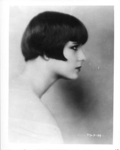 Louise Brooks ...need to print this out for when I go to get hair done!