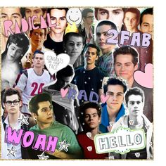 ♥ dylan o'brien collage thingie for emily ♥ - Polyvore