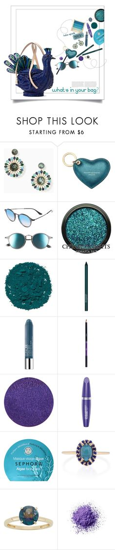 """Full Plume Wicker Peacock."" by s-elle ❤ liked on Polyvore featuring beauty, Kate Spade, Aspinal of London, Ray-Ban, Illamasqua, Smashbox, Clinique, Sigma, Lipstick Queen and Max Factor"