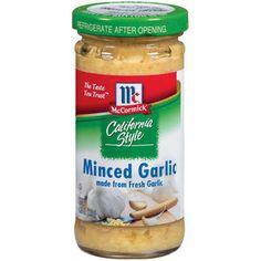 McCormick California Style Minced Garlic, 4.25 oz