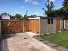 Double gates, garage doors and single gates by Speakman Gates.