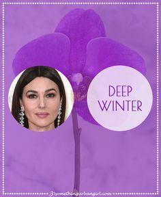 Deep Winter seasonal color palette description by 30somethingurbangirl.com la mejor descripción de los tips para el invierno profundo por favor leelo! !!