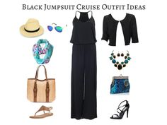 I've created 12 cruise outfits based on 7 key items allowing you to mix & match, pack light and look fantastic on your cruise! Plus size options included!