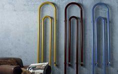 Radiatori di design - Forme bizzarre e colori accesi