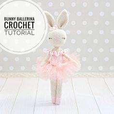 Easter Crochet Patterns, Crochet Bunny Pattern, Crochet Rabbit, Crochet Chart, Love Crochet, Crochet Hooks, Rabbit Toys, Bunny Toys, Crochet Amigurumi