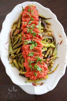 30 Oiled Frying Ideas- 30 Oiled Frying Ideas - - Pratik Hızlı ve Kolay Yemek Tarifleri Italian Chicken Dishes, Turkish Recipes, Ethnic Recipes, Angel Hair, How To Can Tomatoes, Breakfast Items, Pasta, Okra, Green Beans