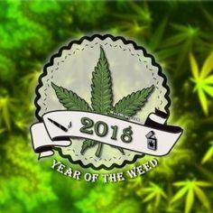 2018 Year Of The Weed Legalize Cannabis Marijuana Pic #weedmemes #cannabis #stoners #marijuana #kush #potheads #420friendly
