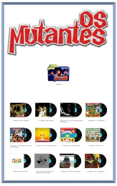 Album Art Icons: Os Mutantes Discography Icons (ICO & PNG)