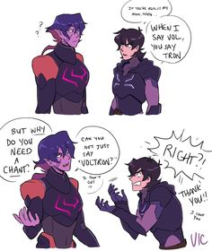 Have some more Keith and Krolia art #voltron <<Lance facepalming in the distance: we seriously need to work this.