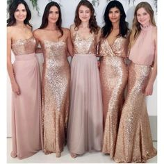 "86 Likes, 3 Comments - Chantilly Couture (@chantillycouturebridal) on Instagram: ""Want your #bridesmaids all in different dresses for your wedding? @watters dresses and mix and…"""