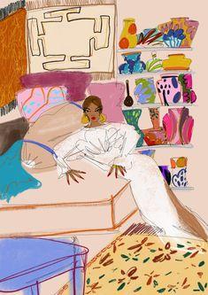 The Official Anjelica Roselyn website. Illustration Art Drawing, Art Drawings, Pop Art Wallpaper, Funky Art, Pen Art, Collage Art, Art Inspo, Art Reference, Cool Art