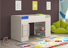 Новинки: детская кровать с игровой зоной «Golden Kids-5» всего за 11250 рублей! #двухъярусная_кровать #мебель #интерьер