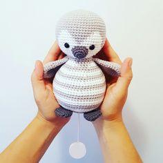 Pinguintierhäkelnanleitung Tier Gestrickt Häkelt Genäht