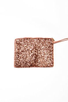 Tech Trend: Rose Gold- Sparkly Pouch!
