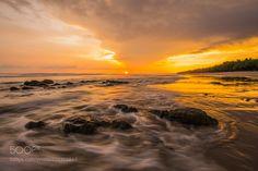 Playa Santa Teresa golden hour by JoeLinder #landscape #travel