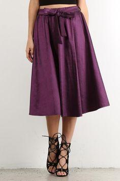 Taffeta Skirt - L Only
