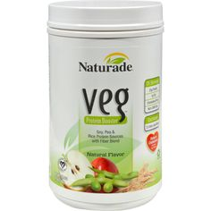 Naturade Veg Protein Booster Natural Description: Add Protein to your Vegetarian or Vegan Diet May Reduce Cholesterol Carbohydrate-Free and Only 110 Calories per Serving Natural Mild Flavor Realize the Savings. Protein Plus, Soy Protein Isolate, Vegetable Protein, Protein Power, Reduce Cholesterol, Cholesterol Diet, Low Carbohydrate Diet, Protein Sources