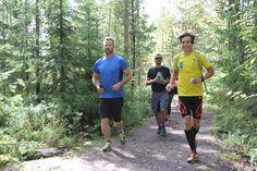 Trail running at the Day of Finnish Nature 2015. Photo: Metsähallitus / Antti Saario