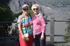 On another excursion visiting the volcanos.