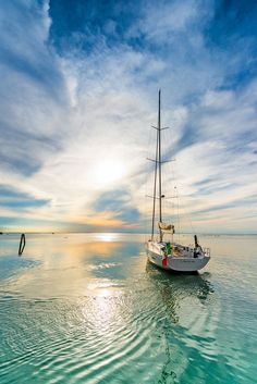 Sea you Soon! Let your summer Boat holiday set sail in 2019 Luxury Yacht Charter Italy with Yacht Boutique on Gulet Victoria, luxury sailing vacations in France Corsica Beautiful World, Beautiful Places, Boat Art, Boat Painting, Sail Away, Belle Photo, Beautiful Landscapes, Wonders Of The World, Sailing Ships