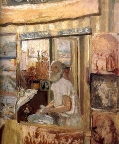 Edouard Vuillard / In the mirror of herself