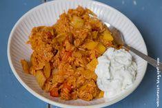 Schneller Tomatenreis mit Paprika | Wos zum Essn Blog