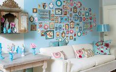 decorações de quartos com livros quadros bijus - Pesquisa Google