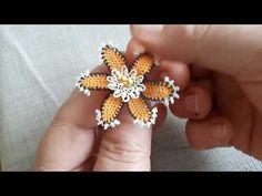Floral, Flowers, Jewelry, Youtube, Diy Kid Jewelry, Needle Tatting Patterns, Bullion Embroidery, Jewlery, Jewerly