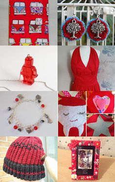 Red Alert! by Sarah Shea on Etsy--Pinned with TreasuryPin.com