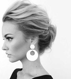 updo for medium fine hair - Google Search