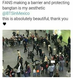 I am proud to be in the same fandom as these ARMYs. Thank you for protecting the guys from the insanity.