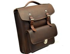 Handmade Leather Uni Backpack by SOULNewZealand on Etsy