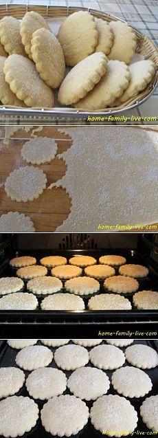 Корж сахарный - пошаговый рецепт с фотоКулинарные рецепты