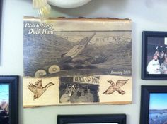 My favorite new thing to make!!! Putting pictures onto rustic wood pieces to add that pop to the room!