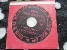 Red Devils, The ‎– Automatic This Way Up ‎– WAY 655 Promo UK CD Single