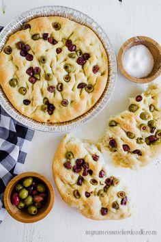 Easy Olive Focaccia