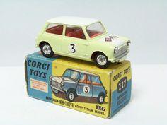 CORGI TOYS Morris Mini Cooper Competition.
