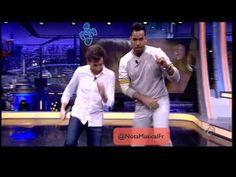 Romeo Santos dando clases de baile (bachata) - YouTube