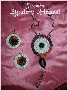 Bijoutery artesanal Jazmín, diseños exclusivos. Descuentos en venta por mayor. Entrega inmediata! Crochet Necklace, Jewelry, Camper Van, Atelier, Dressmaking, Jewlery, Jewerly, Schmuck, Jewels