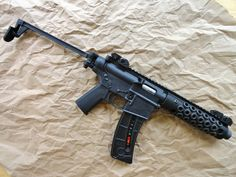One of the BEST modified M&P15-22's I have ever seen. Nice Job