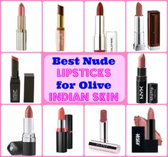 Best Nude Lipsticks for Dusky Indian Skin: Top 10 with Prices There is one lip color that can never let you down and that's your perfect Nude. Nude lipstic